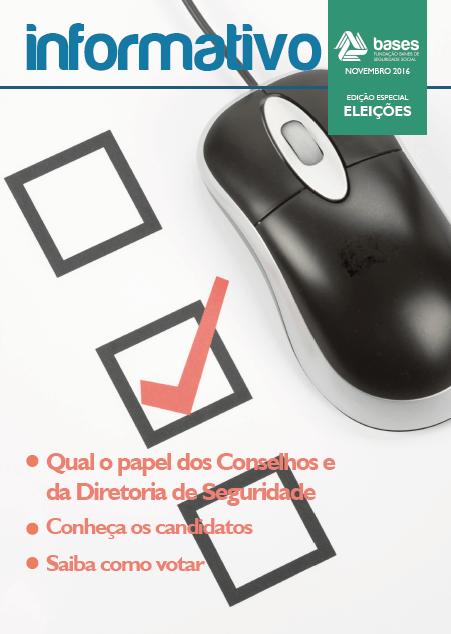 BASES publica informativo especial das Eleições