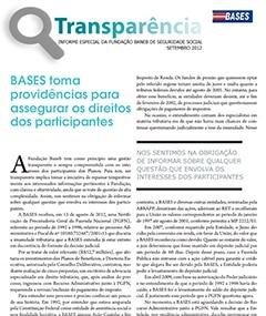 Transparência.